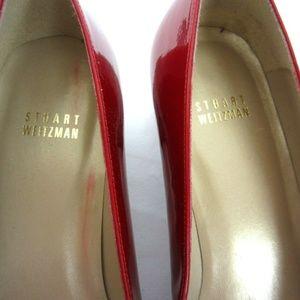 Stuart Weitzman Shoes - Stuart Weitzman NWOT Red Patent Leather Heels 8.5M